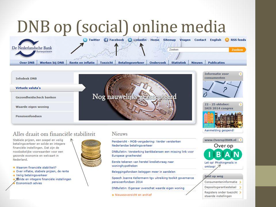 DNB op (social) online media