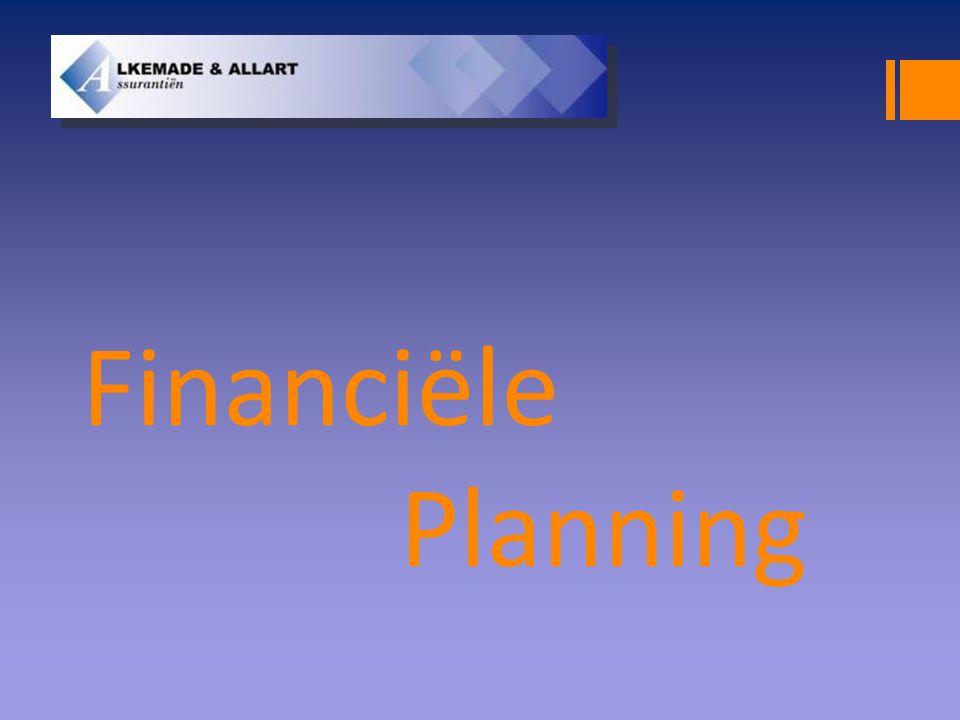 Financiële planning  Goede oudedagsvoorziening.Is uw pensioen en AOW wel toereikend.