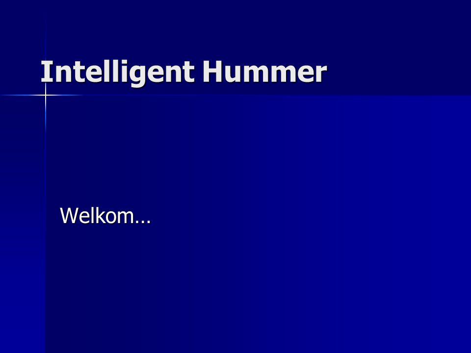 Intelligent Hummer Welkom…