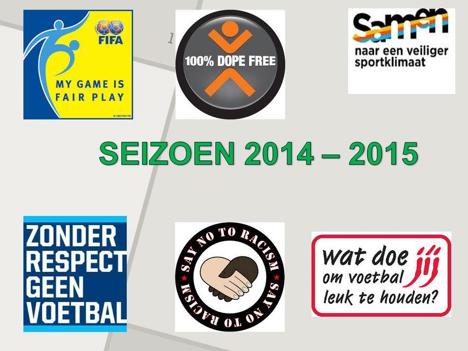 SEIZOEN 2014 - 2015 Jeugdwerking One Side…push your limits O.