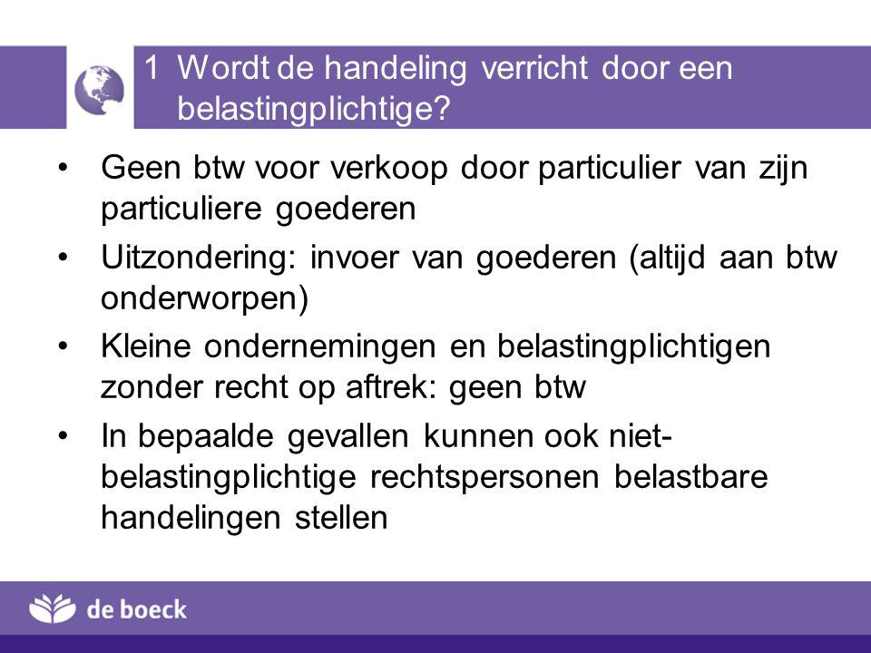 4 Vrijstellingen 1.Intracommunautaire leveringen bewijs van verzending of vervoer (bv.