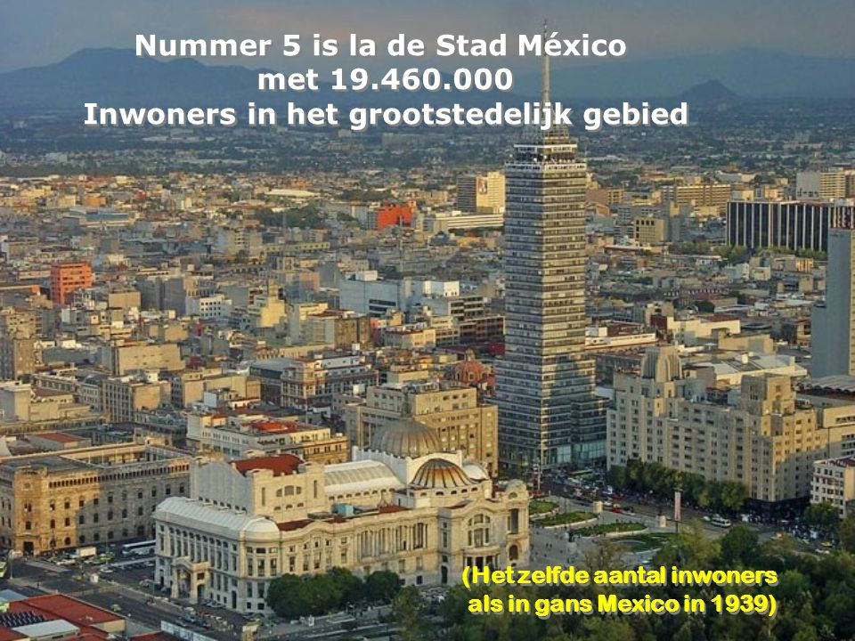 Nummer 6 is New York met 19.425.000