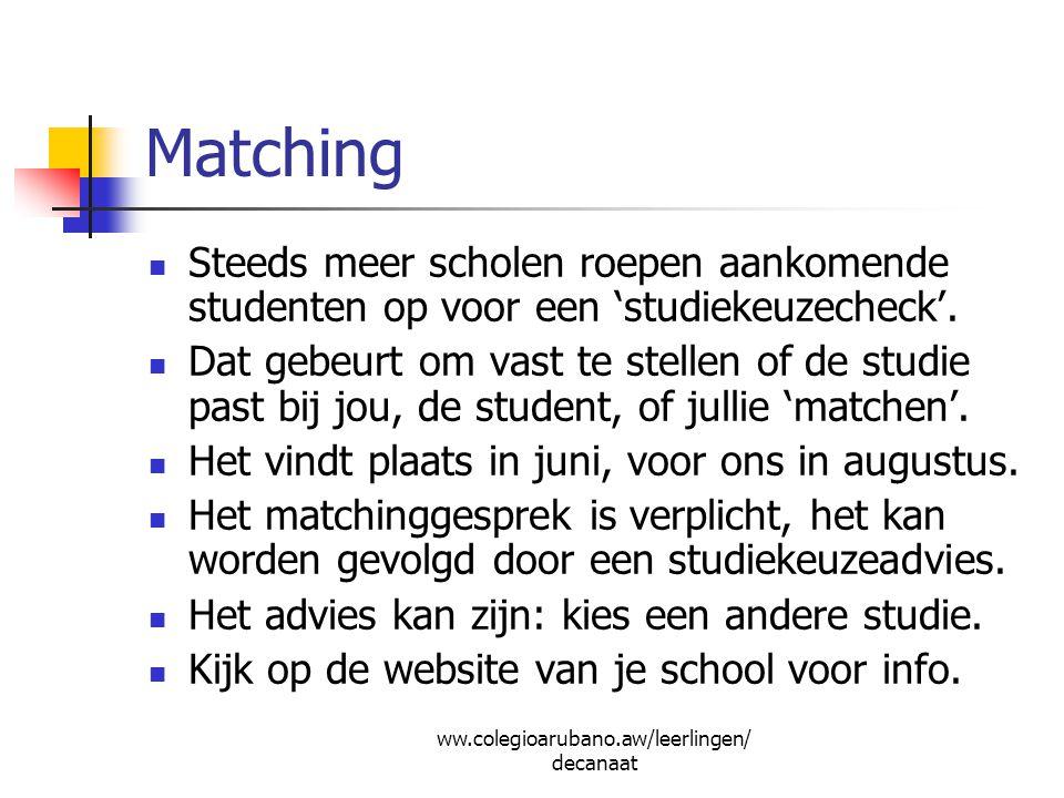 Studies in English: TOEFL/SAT Voor alle Engelstalige studies in US, NL, Aruba etc.: TOEFL en SAT tests nodig.
