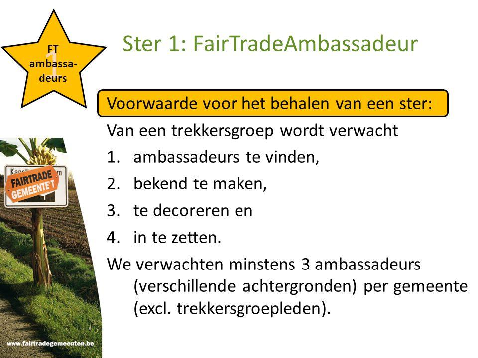Een ambassadeur is...