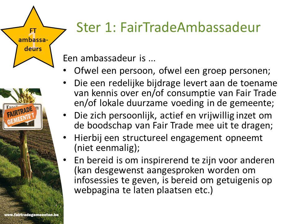 4 FT straat Ster 4: FairTradeStraat