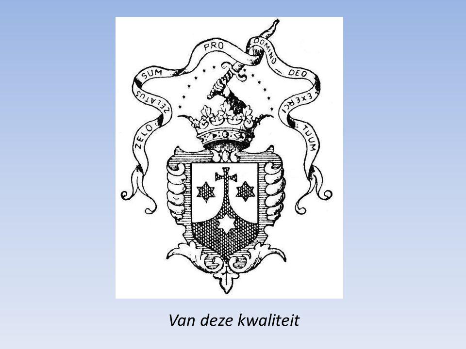 Het eerste gedrukte (getekende ?)Karmelietenschild dateert van het jaar 1499.