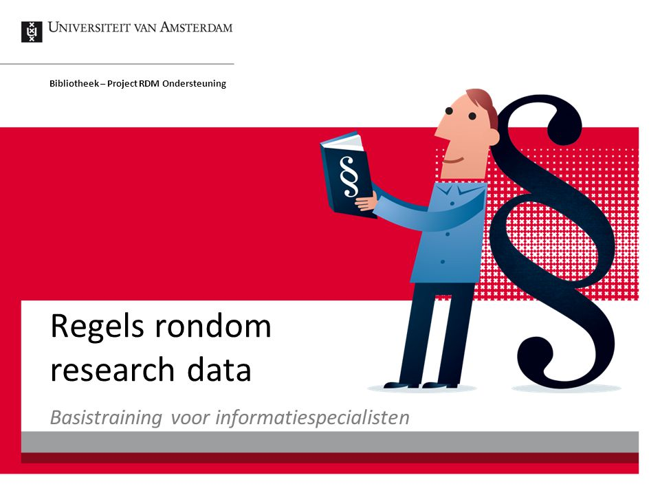 Licenties RDMO Regels rondom research data52