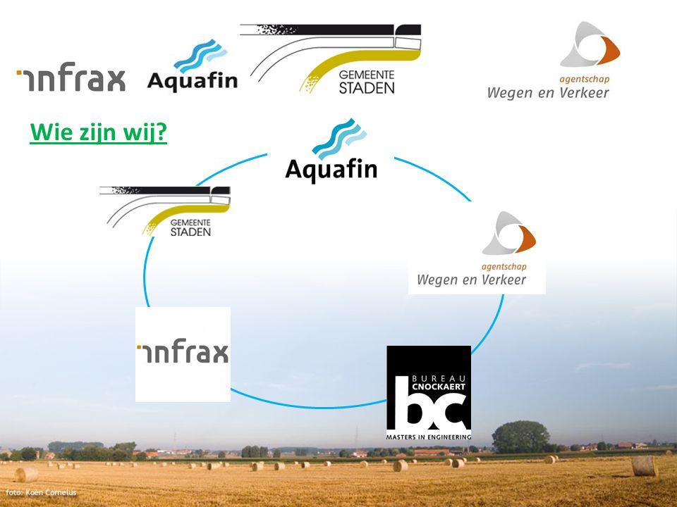 Communicatie Website: www.Aquafin.be -> uw gemeentewww.Aquafin.be Nieuwsbrief: inschrijven.