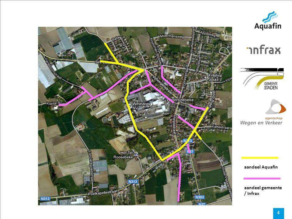Werken Westrozebeke Deel 2: de heer Bruno Corluy – ingenieur studiebureau Cnockaert traject werken: 1 ste fase uitvoering werken