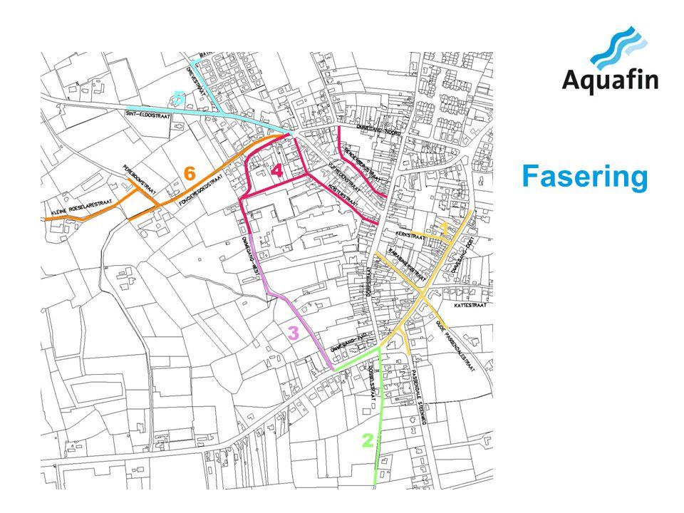 15-12-2010 Aquafin partner for all wastewater projects 7 FASE 1 Oude Passendalestraat - Ommegang Oost Kerkstraat – Karabiniersstraat - Passendalesteenweg