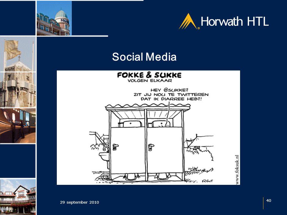Social Media 29 september 2010 40