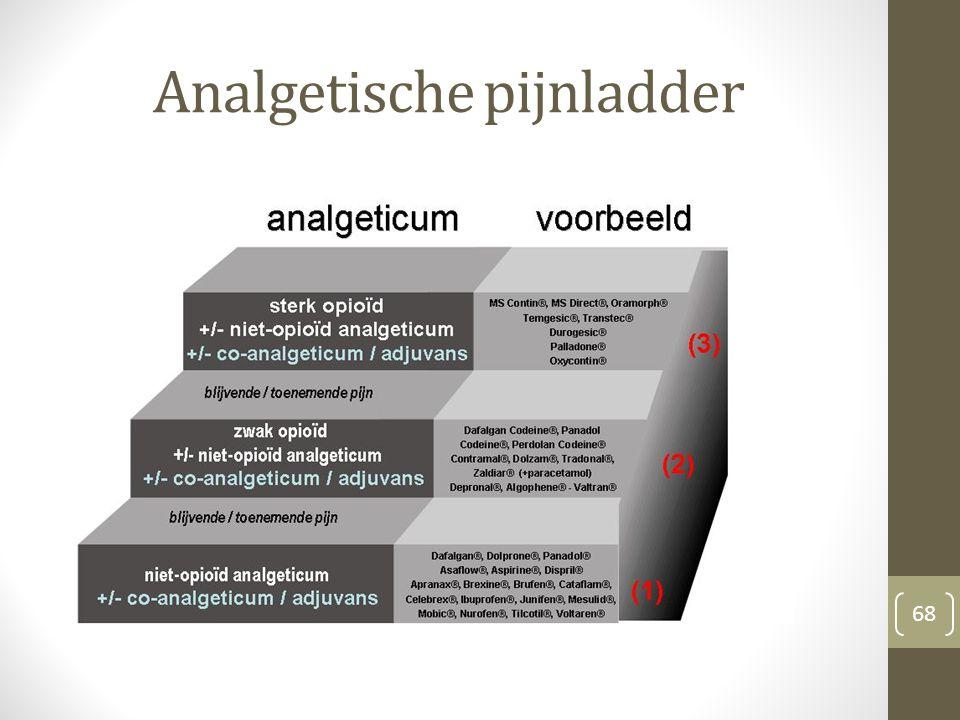 Analgetische pijnladder 68