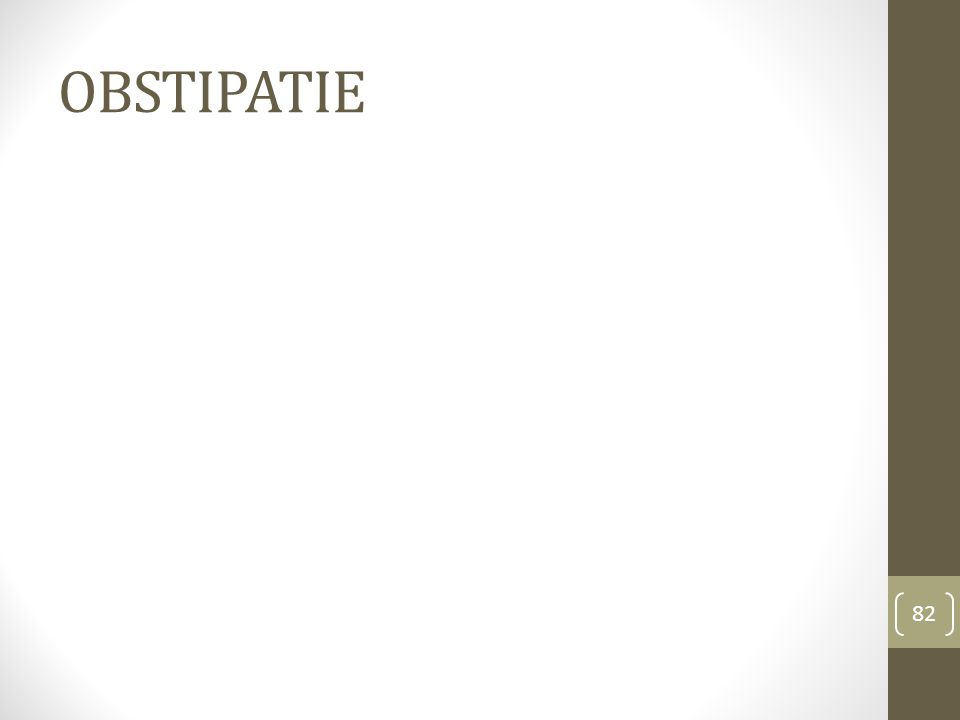 OBSTIPATIE 82