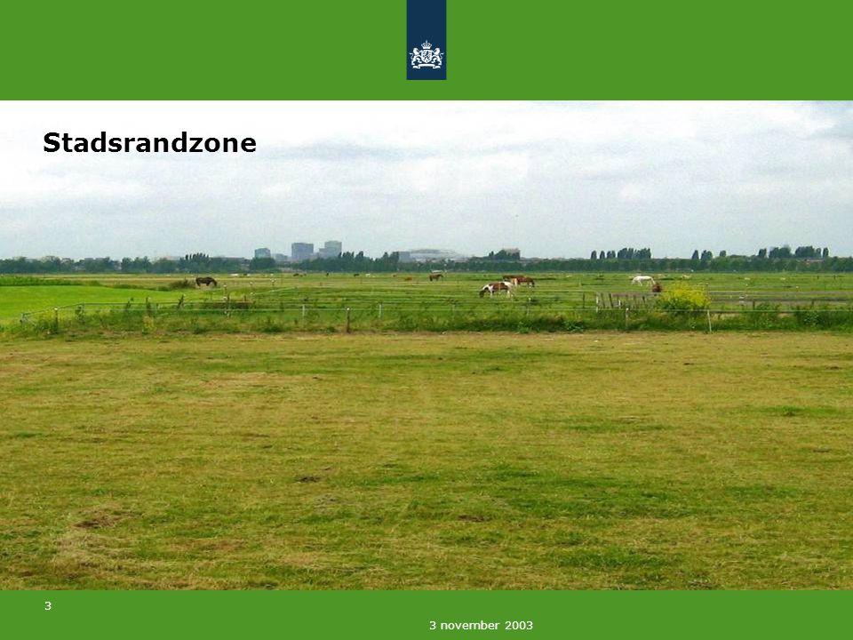 4 3 november 2003 Bereikbaarheid en toegankelijkheid Rotterdam