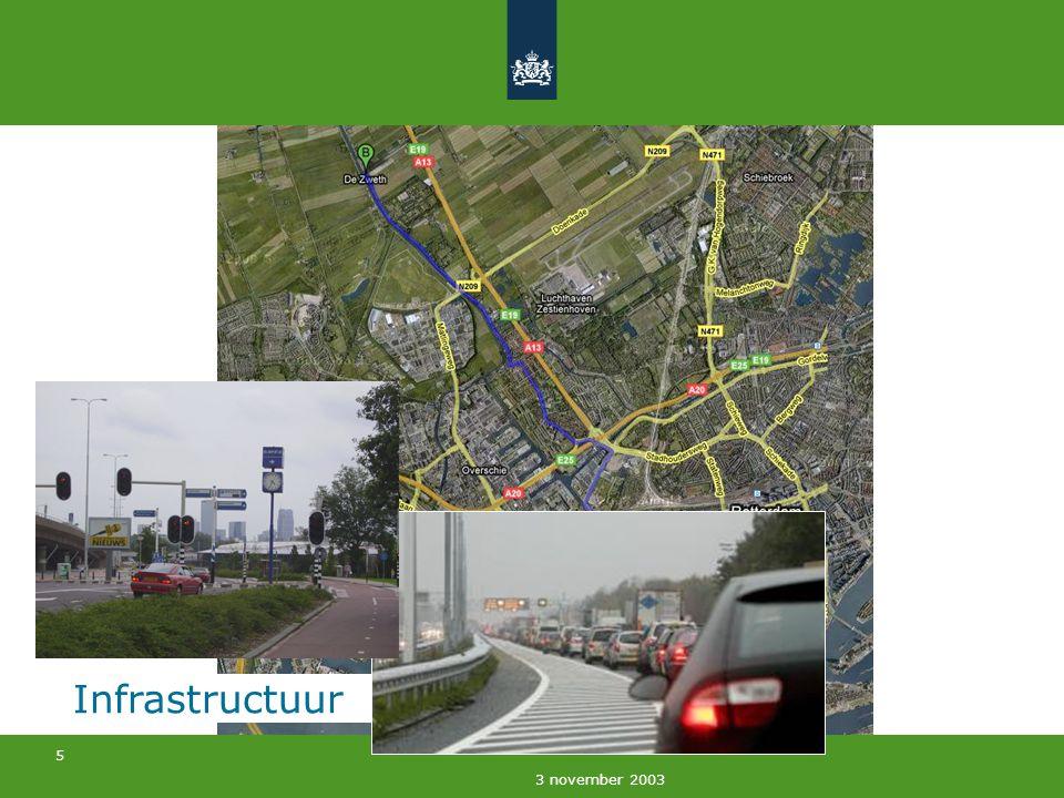5 3 november 2003 Infrastructuur