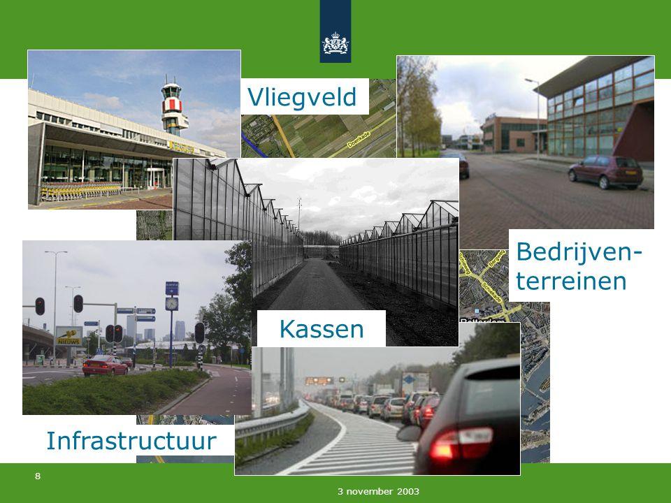9 3 november 2003 1955 Open ruimten binnen verstedelijkte gebieden Eindhoven - Helmond