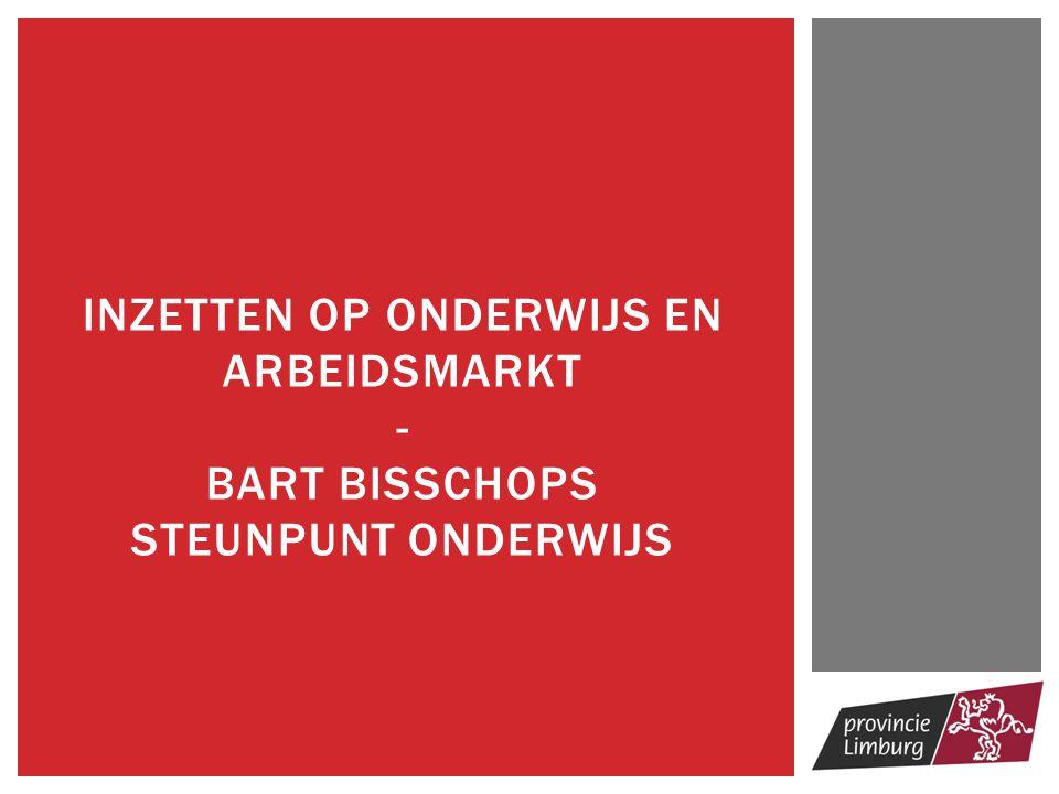 Huidige situatie  Limburgse economische situatie (SALK)  Vlaamse, Belgische, Europese context en regelgeving  Limburg, uw partner  Budgettaire beperkingen Consequenties  Nood aan focus  Nood aan net- en sectoroverschrijdende dwarsverbanden  Nood aan efficiëntie ONDERWIJSBELEID IN DE PROVINCIE LIMBURG