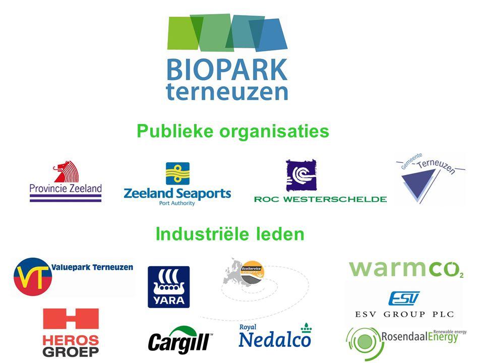 Publieke organisaties Industriële leden