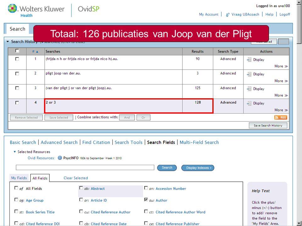 Zoeken op auteur19 Totaal: 126 publicaties van Joop van der Pligt