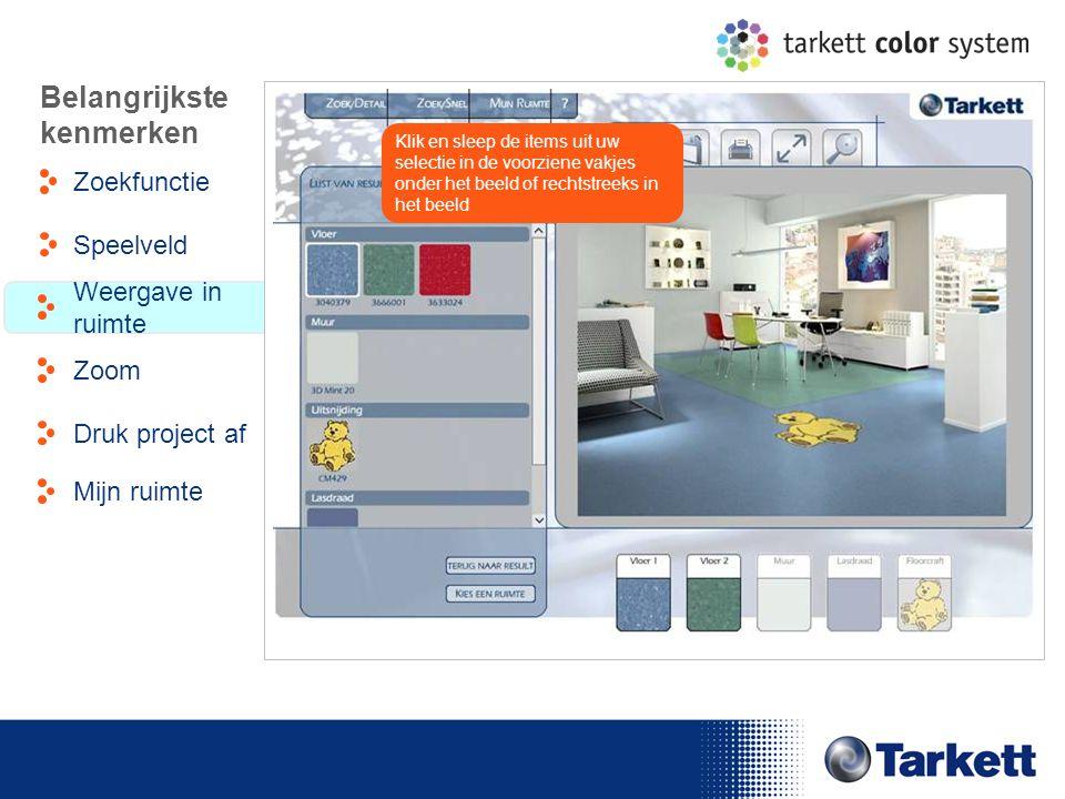 EDF Energy Briefing Klik en sleep de items uit uw selectie in de voorziene vakjes onder het beeld of rechtstreeks in het beeld Belangrijkste kenmerken
