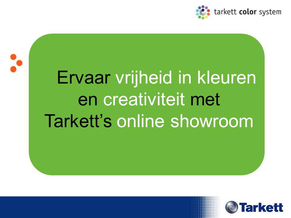EDF Energy Briefing Ervaar vrijheid in kleuren en creativiteit met Tarkett's online showroom