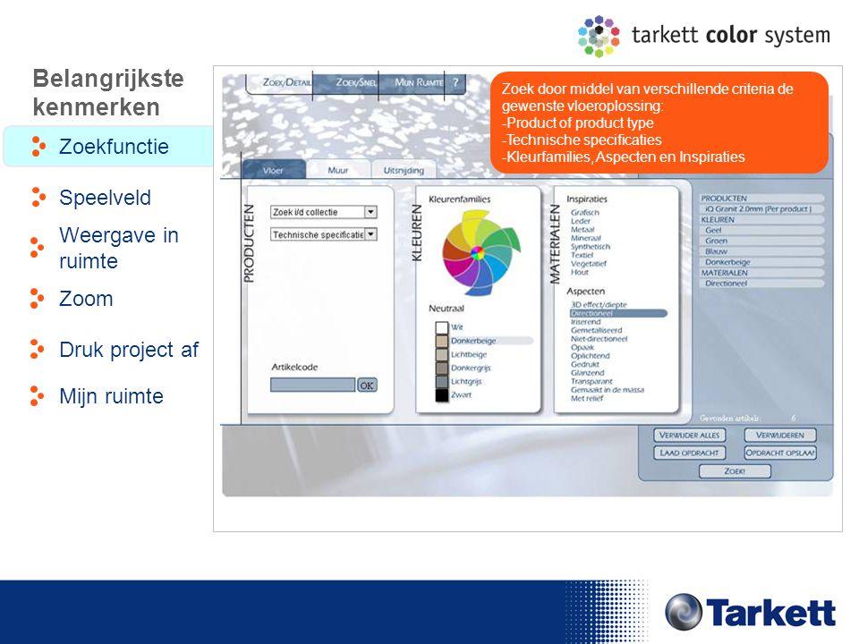 EDF Energy Briefing Zoek door middel van verschillende criteria de gewenste vloeroplossing: -Product of product type -Technische specificaties -Kleurf