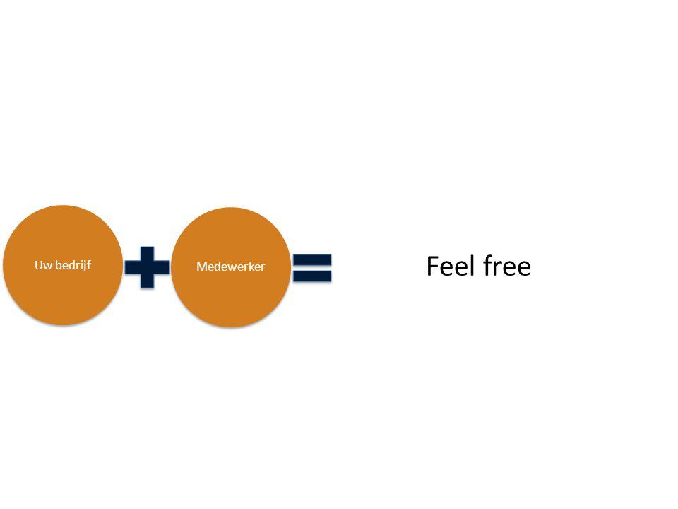Uw bedrijf Medewerker Feel free