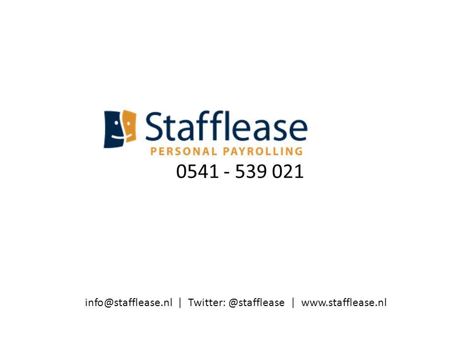 0541 - 539 021 info@stafflease.nl | Twitter: @stafflease | www.stafflease.nl