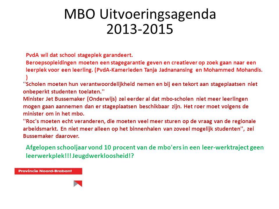 PvdA wil dat school stageplek garandeert. Beroepsopleidingen moeten een stagegarantie geven en creatiever op zoek gaan naar een leerplek voor een leer