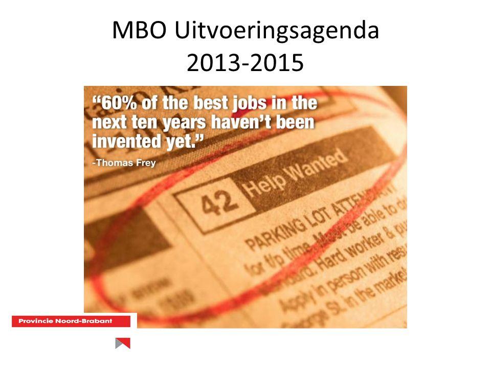 Acties Uitgangspunt is dat alle Brabantse MBO-instellingen zich tot doel stellen dat er geen student buiten de boot valt als gevolg van de arbeidsmarktproblematiek.