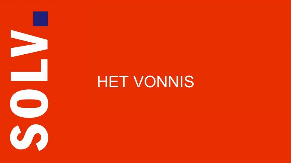 SOLV Advocaten Anne Frankstraat 121 1018 BZ Amsterdam ? HET VONNIS