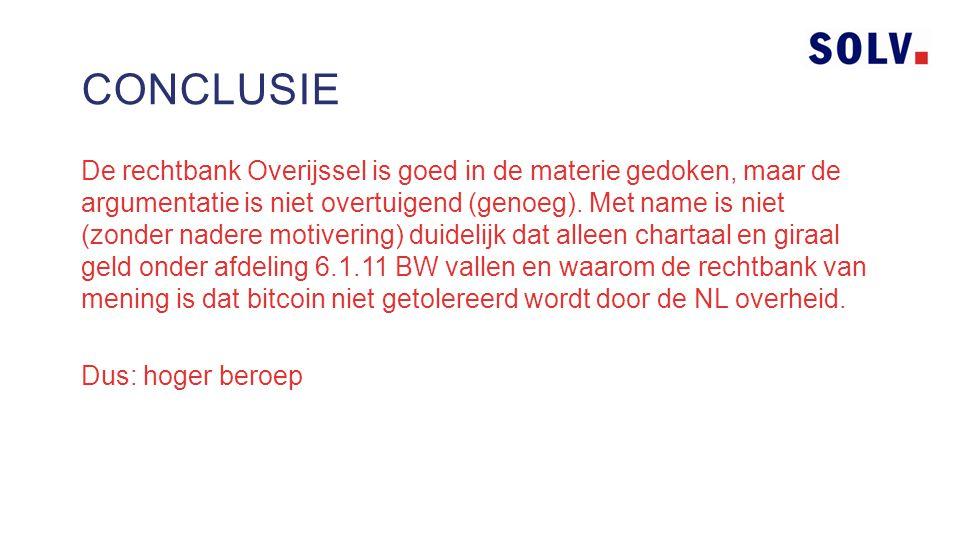 De rechtbank Overijssel is goed in de materie gedoken, maar de argumentatie is niet overtuigend (genoeg).
