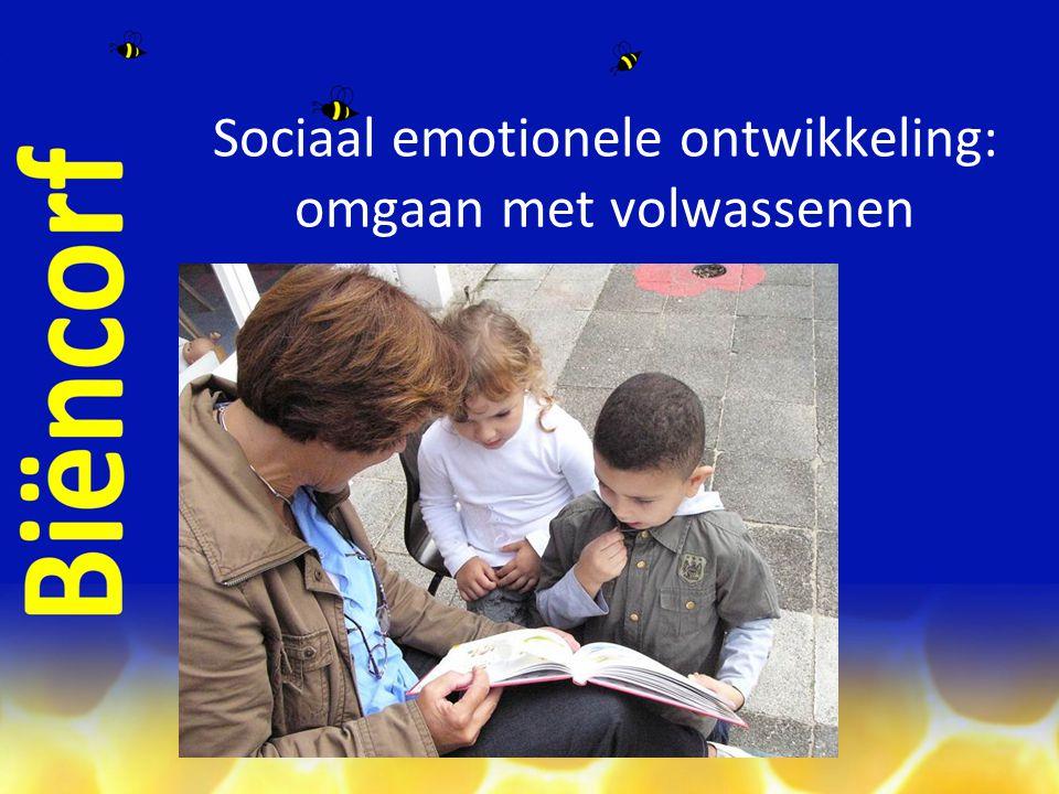 Sociaal emotionele ontwikkeling: omgaan met volwassenen