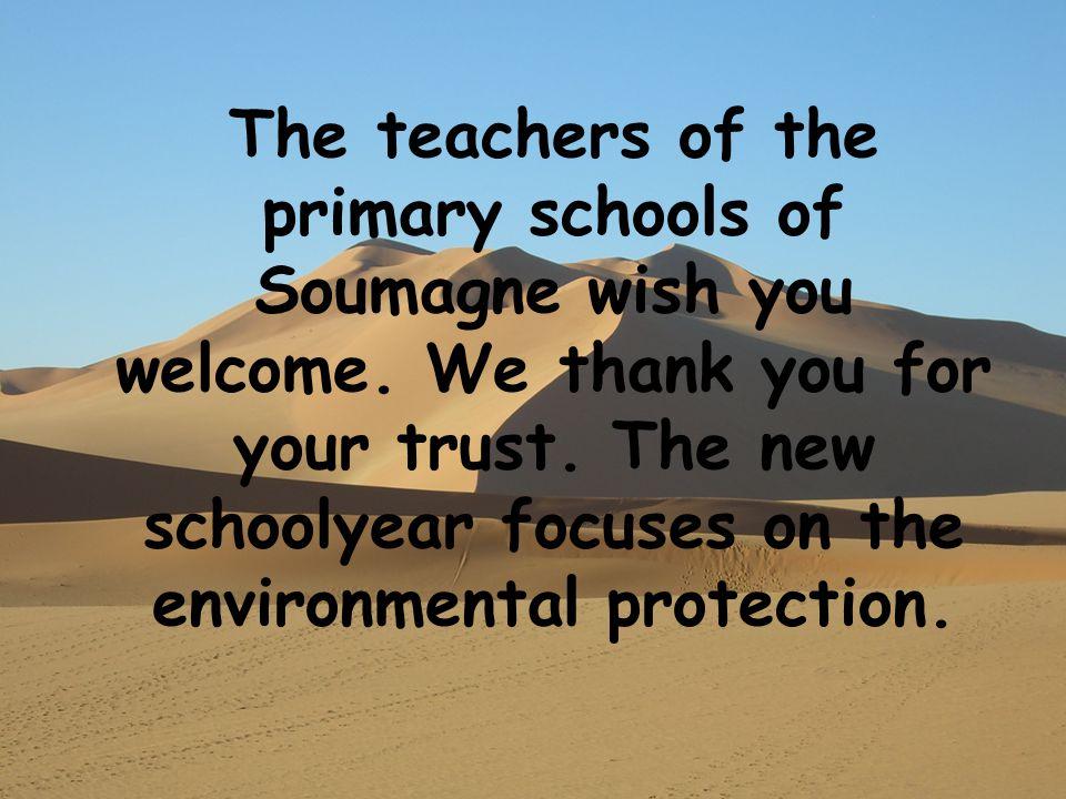 The leraren van de gemeentelijke scholen van Soumagne heten u een hartelijk welkom.