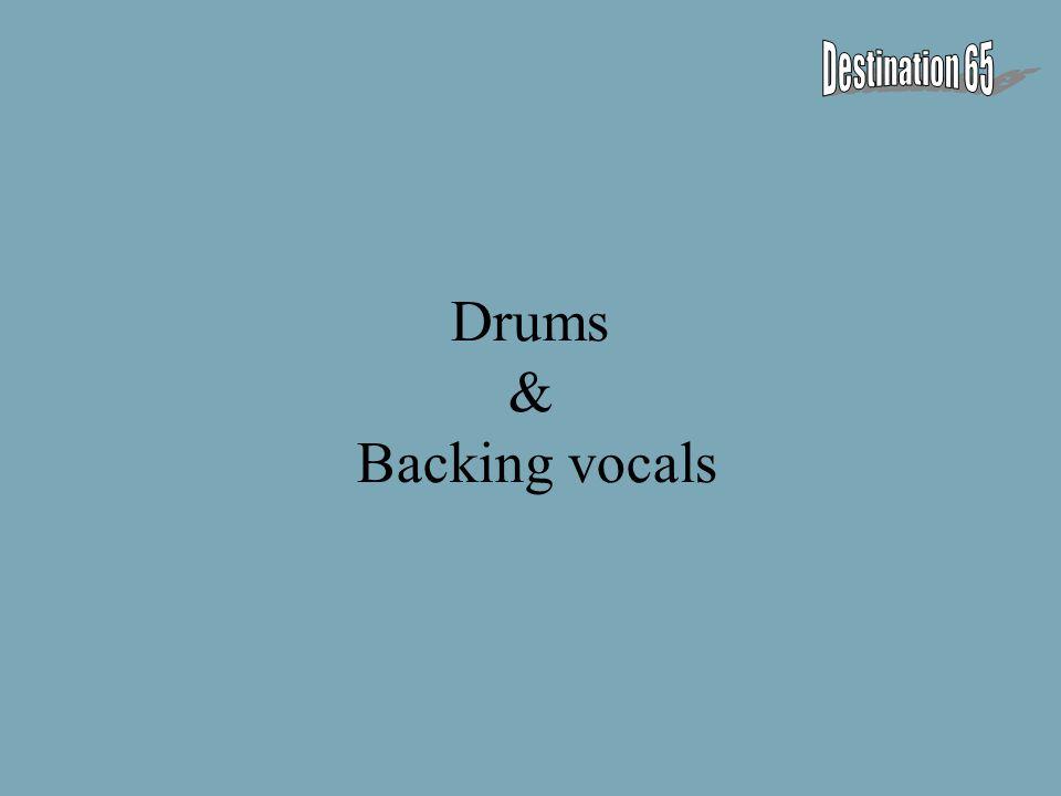 Drums & Backing vocals