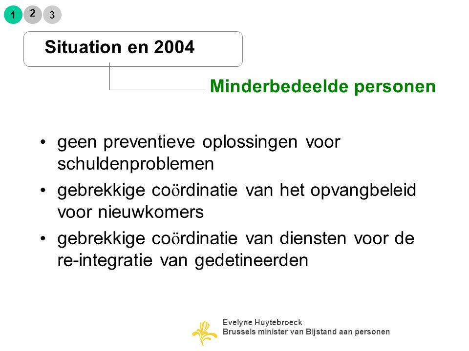 2 13 Conclusie Evelyne Huytebroeck Brussels minister van Bijstand aan personen