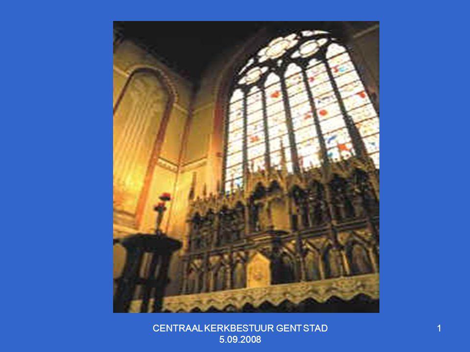CENTRAAL KERKBESTUUR GENT STAD 5.09.2008 22 AANTAL VERGADERINGEN CKB GENT STAD 2005-2008