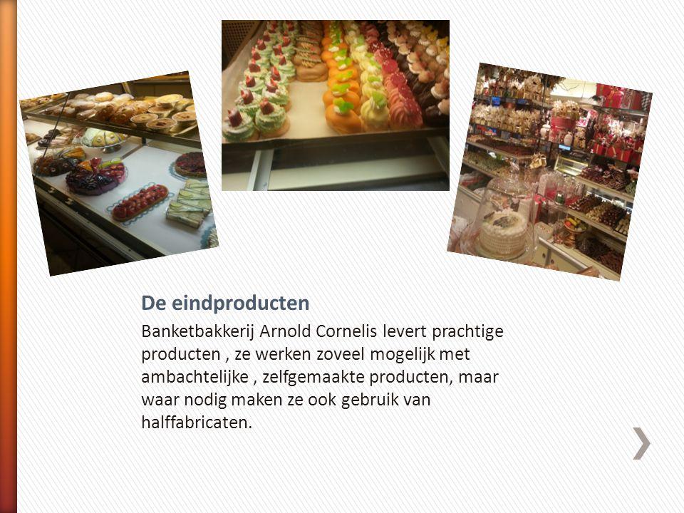 Banketbakkerij Arnold Cornelis levert prachtige producten, ze werken zoveel mogelijk met ambachtelijke, zelfgemaakte producten, maar waar nodig maken