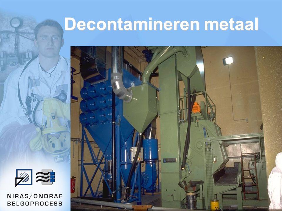 27 Decontamineren metaal