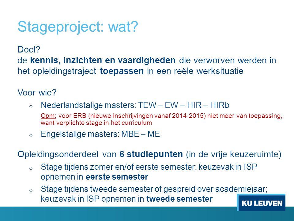 Stageproject: praktisch.FASE 2: ADMINISTRATIEVE FASE Belangrijk voor verzekering !.