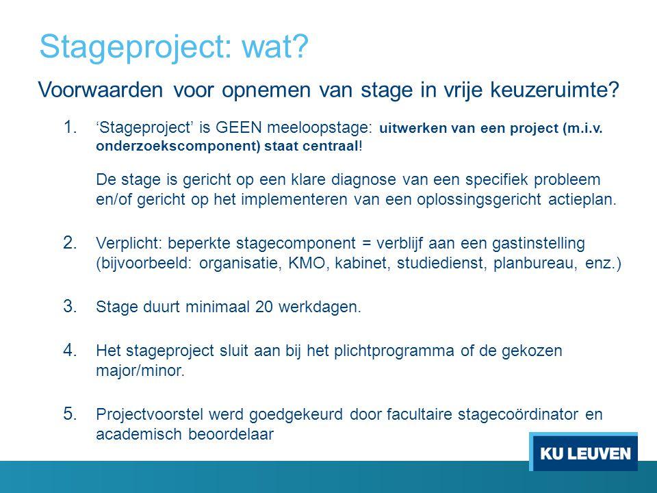 Stageproject: wat.Evaluatie 1.