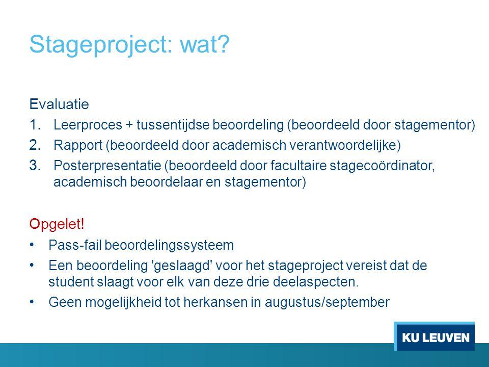 Stageproject: wat.Waar.