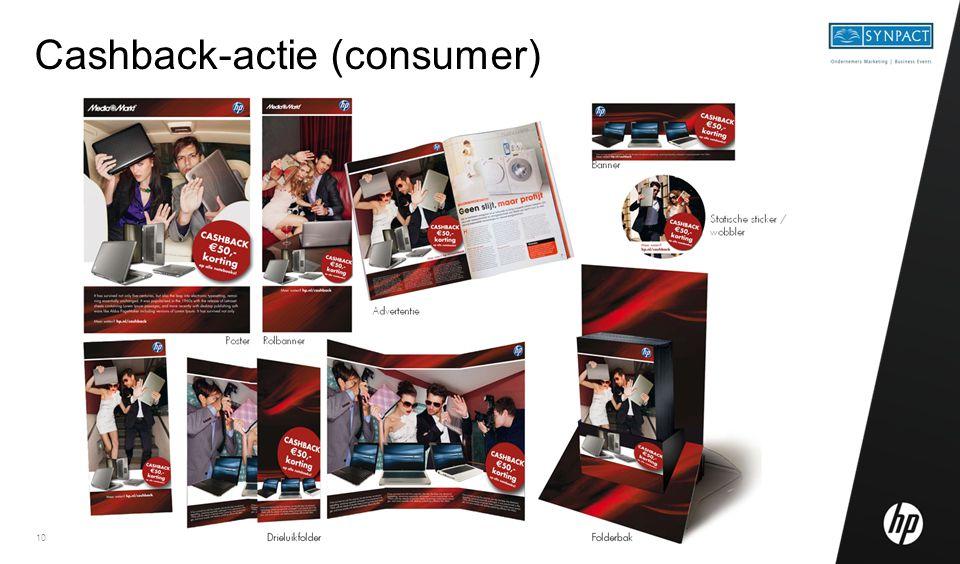 10 Cashback-actie (consumer)