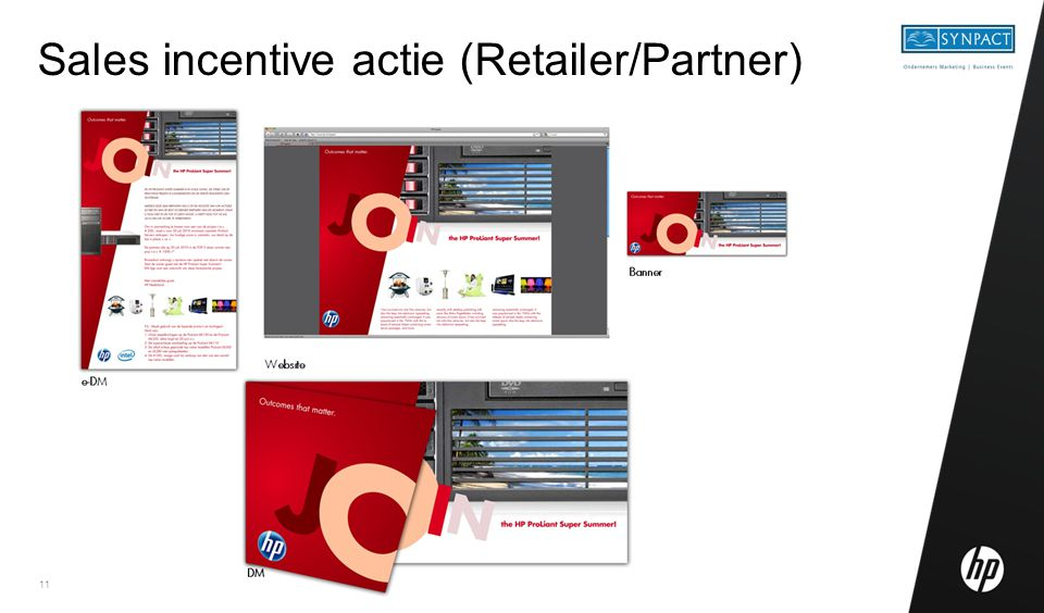 11 Sales incentive actie (Retailer/Partner)