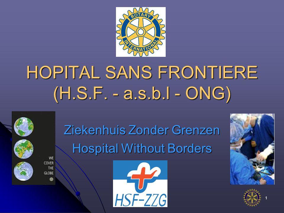 1 HOPITAL SANS FRONTIERE (H.S.F.