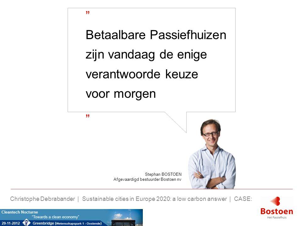 Nulenergie Bostoen.> 115 opgeleverde nulenergiehuizen.