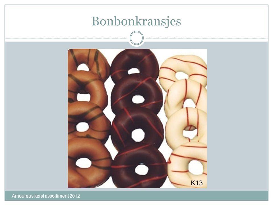 Bonbonkransjes Amoureus kerst assortiment 2012 K13