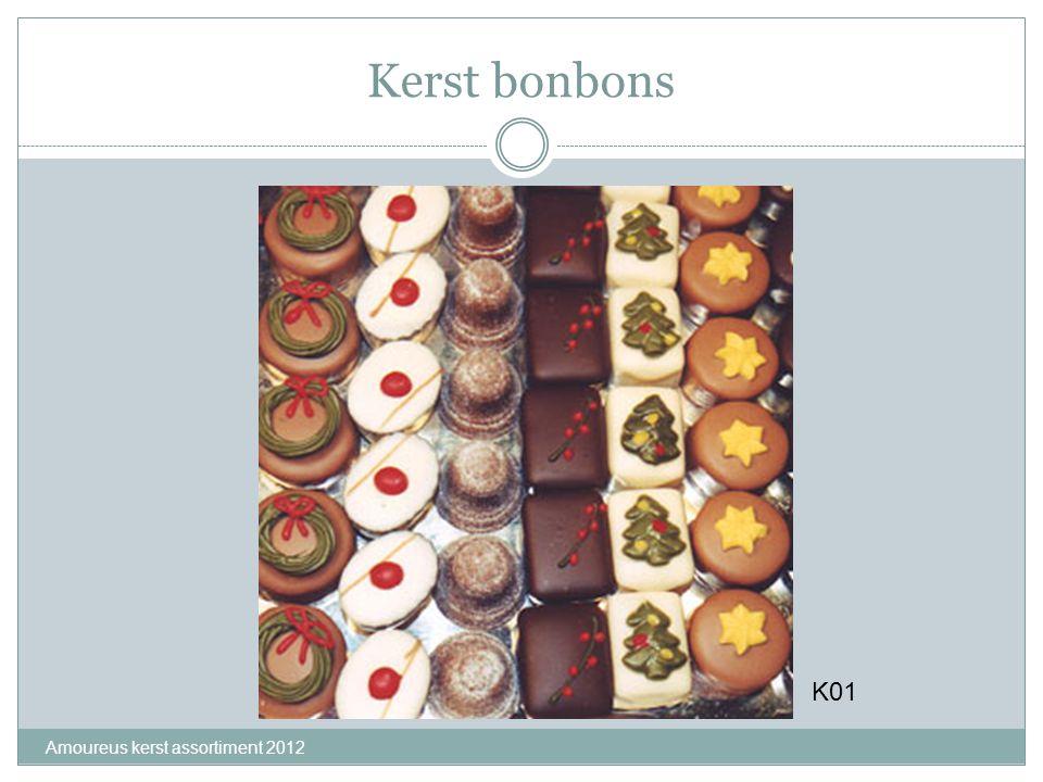 Kerst bonbons Amoureus kerst assortiment 2012 K01