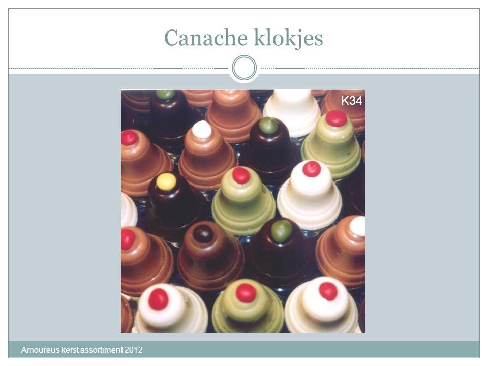 Canache klokjes Amoureus kerst assortiment 2012 K34