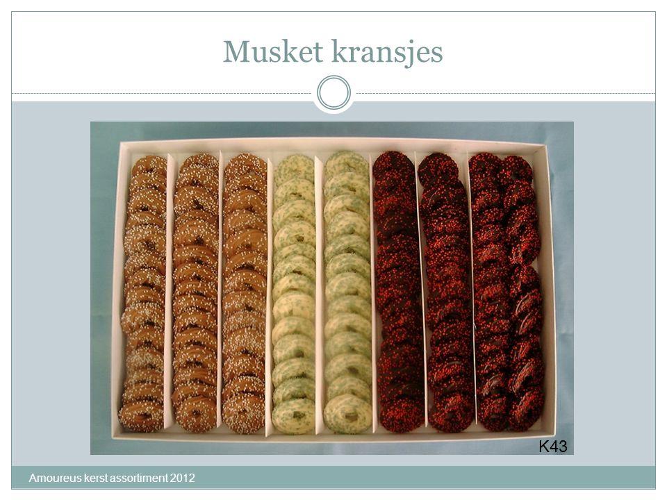 Musket kransjes Amoureus kerst assortiment 2012 K43